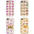 Emoji Monkey Emotion Face Print Phone Case Protect For iPhone 6S/6 Plus/6S Plus