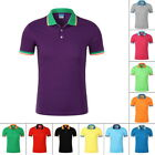 Mens' Polo Short Sleeve Comfort T-Shirt Casual Breathable Turn-down Shirt Top