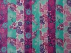 PATTERNED JELLY ROLL STRIPS 100% COTTON PATCHWORK FABRIC LOTS OF PATTERNS