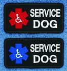 """Service Dog Para Handicapped Patch 2X4"""" Medical Assistance Disabled Danny LuAnn"""