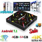 H96 Max-H2 Smart TV Box Android 7.1 Quad-Core 4K 4G+64G Wifi RK3328 Media Player