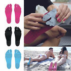 Adults Kids Beach invisible foot stickers Shoes Stick on Soles Sticky Pads Feet
