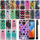 "For Motorola Moto E4 Plus XT1773 5.5"" 2017 Slim HARD Back Case Phone Cover + Pen"
