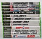 XBOX Video Games with FREE SHIPPING