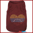 Pet Dog Clothes T-Shirt Venezuela Flag - XXS,XS,S,M,L,XL
