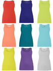 Evans cotton ribbed vest tops choice of colours sizes 14 to 30 / 32