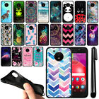 "For Motorola Moto E4 XT1767 XT1768 5"" 2017 Chevron TPU SILICONE Case Cover + Pen"