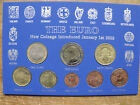 2002 Euro Coin Set Germany Creece France Portugal Austria Take your pick All BU