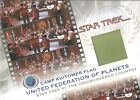 STAR TREK COMPLETE MOVIES 2007 VARIOUS COSTUME FLAG PROMO CASE CARD CHOOSE