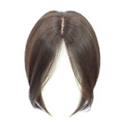 11inch Human Hair Extensions Womens Hair Toupees Hairpiece Replacement Topper