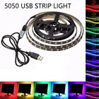 0.5M - 5M RGB 5050 Waterproof LED Strip light SMD 24 Key Remote 5V USB Full Kit