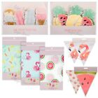 Summer Tableware Tablecloth Bunting Decorations BBQ Party Flamingo Ice Cream