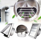 Внешний вид - Stainless Steel Wall Air Vent Ducting Ventilation Exhaust Grille Cover Outlet
