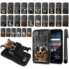 """For LG Stylo 3 Plus/ Stylus 3 TP450 5.7"""" Dog Hybrid Rugged Stand Case Cover +Pen"""