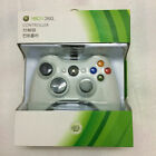 New Black Wired Game Controller For Microsoft Xbox 360 Green Box