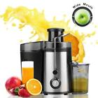 500ml Juicer Masticating Extractor Fruit Unmoved Vegetable Press Juice Machine USA