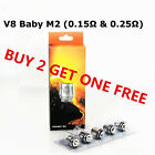 TFV8 BABY M2 Coils (V8 M2 0.15? & 0.25?) Pack of 5 For Smok Stick-V8 Big Baby