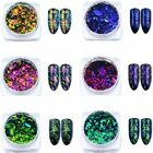 Chameleon Nail Glitter Powder  Nail Art Paillette Dust Flakies Sequins