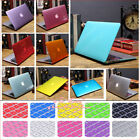 "2in1 Crystal See-through Hard Case Shell for MacBook AIR PRO 11""13"" 15""Touch Bar"
