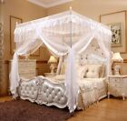 Romantic Princess Canopy Mosquito Net No Frame for Twin Full Queen King Bed US image