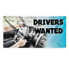 Drivers Wanted #1 Advertising Printing Vinyl Banner Sign With Grommets