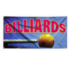 Billiards #1 Outdoor Advertising Printing Vinyl Banner Sign With Grommets $45.99 USD on eBay