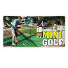 Mini Golf Outdoor Advertising Printing Vinyl Banner Sign With Grommets