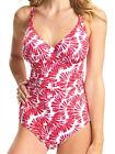 Fantasie Lanai Plunge Swimsuit 6318 Swimming Costume Underwired Non Padded - Red