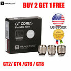 3Pcs/pack Vaporesso GT Core GT2 GT4 GT6 GT8 /MESH Replacement Coils For NRG Tank