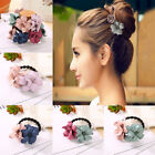 Elastic Hair Ring Flower Cloth Hair Rubber Bands Rope Headbands Hair Accessories
