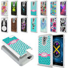"For Huawei Honor 6X / Mate 9 Lite 5.5"" Design Studded Sparkle HYBRID Case Cover"