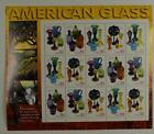 US SCOTT 3325 - 3328 PANE OF 15 AMERICAN GLASS 33 CENTS FACE MNH