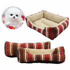 Large Pet Dog Cat Bed Puppy Cushion House Soft Warm Kennel Dog Mat Blanket US
