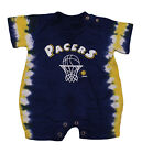 NBA Basketball Boys Infants Newborn Indiana Pacers Tie Dye Jersey Romper, Navy