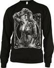 Cowgirl Marilyn Sexy Farmer Ranch Cattle Girl Redneck Long Sleeve Thermal