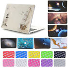"2in1 Galaxy Universe Space Matte Hard Case Shell for MacBook AIR PRO 11"" 13"" 15"""