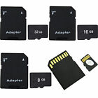 8gb micro sd card with adapter - 8GB 16GB 32GB Micro SD TF Memory Card With Adapter For CellPhones Cameras Laptop