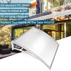 "Door Window Outdoor Awning PC Hollow Sheet Sun Shade Cover Canopy 40x40"" 80x40"""