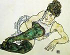 Green Stockings by Egon Schiele. Fine Art Repro Made in U.S.A Giclee Prints