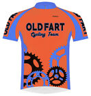 Primal Wear Old Fart Cycling Team Jersey Men's Bright Orange bicycle bike + Sox