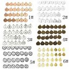 A-Z 26 Alphabet Carving Pendants Fashion Vintage Jewelry DIY Making Accessories