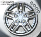 """Rims Cover Wheel Skin Covers 14"""" Inches ABS Plastic Hubcap 4pcs Style #B515"""