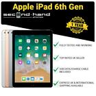 Apple iPad 6 - 9.7&quot; (6th Generation 2018) 32/128GB Wi-Fi or 4G Cellular Unlocked <br/> FREE EXPRESS UK Delivery  Grey or Silver  12M Warranty