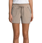 St. John's Bay Active Pull-On Shorts New Size XL, XXL New Sand Beige