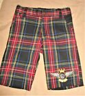JERRY LEIGH  BOYS  PLAID NICKERS 4  POCKET PANTS  FREE US SHIPPING 4 T