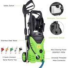 3000PSI 1.7GPM Power Water Electric Pressure Washer w  Hose Detergent Tank Kit