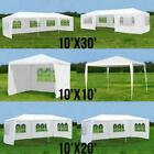 10'x 30' Party Tent Outdoor Gazebo Heavy Duty Pavilion Event /w Removeable Walls