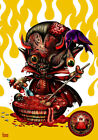 Hell Maniacs by Kurono Canvas or Paper Rolled Art Print