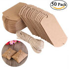 Внешний вид - Vintage Kraft Paper Pillow Boxes Carton Wrapping Gifts Candy Boxes Wedding Favor
