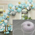 5m Balloon Chain Tape Arch Connect Strip for Birthday Wedding Party Decor US